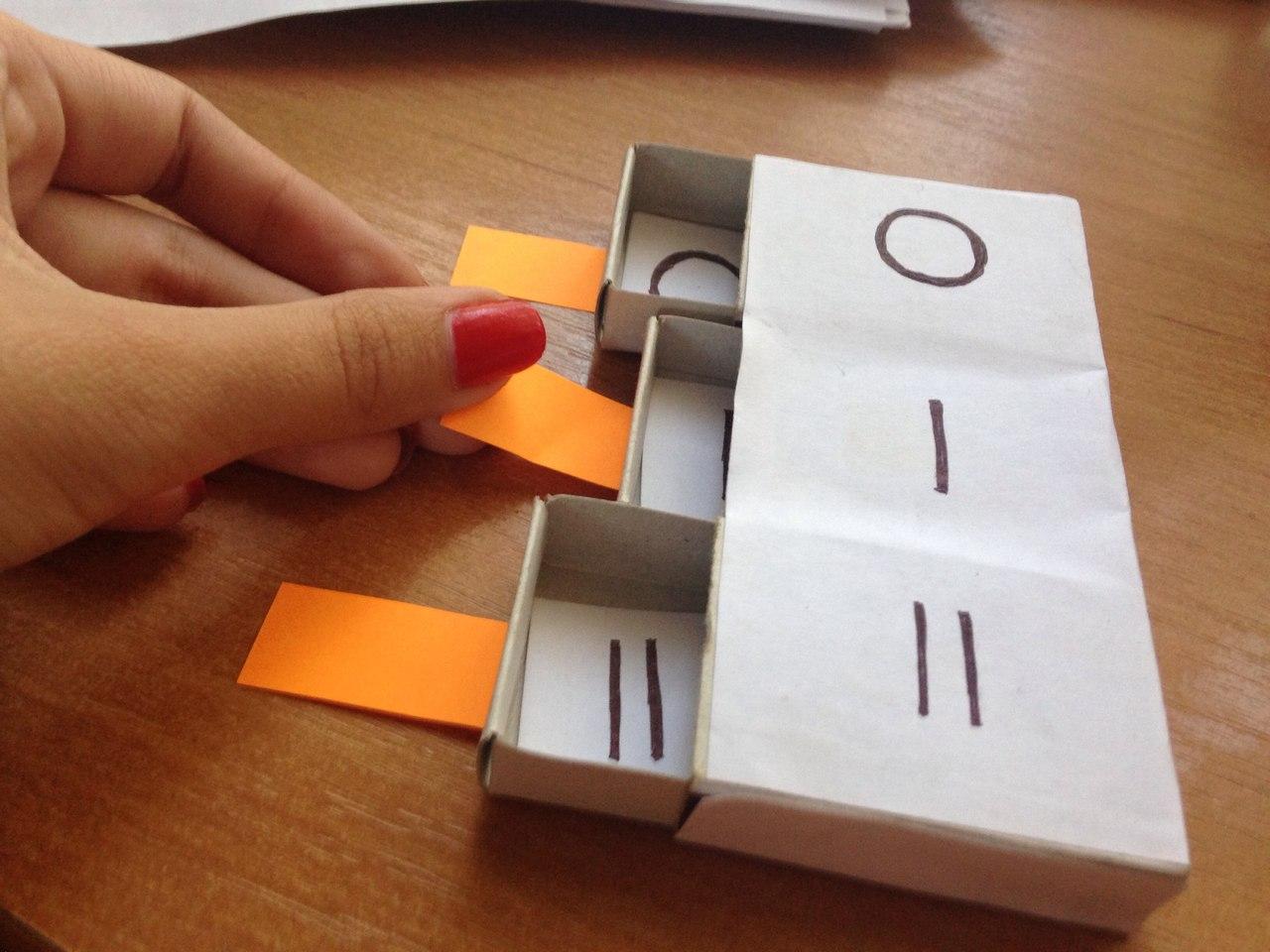 Как сделать фонетический пенал из спичечных коробков